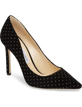 Romy Crystal Studded Pump by Jimmy Choo