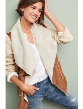 Sherpa Moto Sweater by Moth
