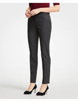 Elastic Back Ankle Pants by Ann Taylor