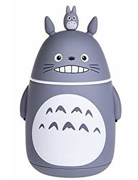 Bamboo's Grocery Cute Totoro Vacuum Bottle, Vacuum Cup, Travel Mug, 280 Ml, Grey by Bamboo's Grocery