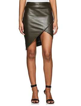 Embellished Leather Miniskirt by Mason By Michelle Mason