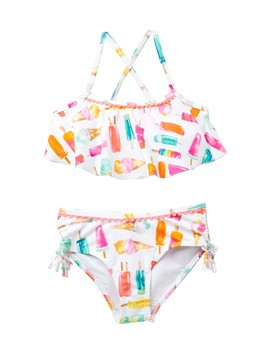 Ice Pop Two Piece Swimsuit (Toddler & Little Girls) by Kate Spade New York