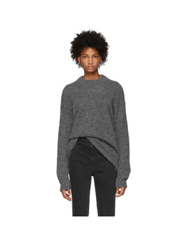 Grey Easy Cozy Sweater by Tibi