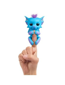 Fingerlings   Interactive Baby Dragon   Tara (Blue With Purple) By Wow Wee by Wow Wee