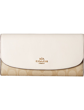 Signature Pvc Checkbook Wallet by Coach