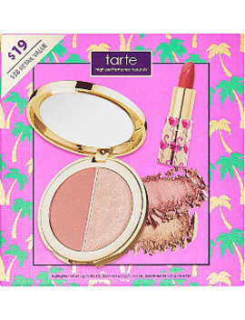 Online Only Lip & Cheek Glow Color Collection by Tarte