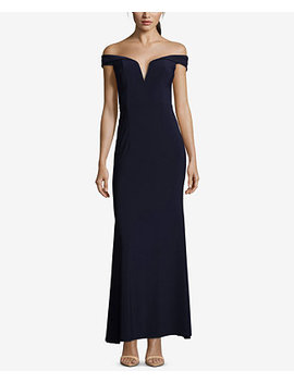 Off The Shoulder Gown by Xscape