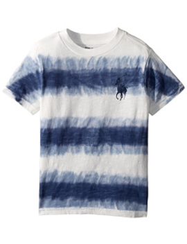 Tie Dye Cotton Jersey T Shirt (Little Kids/Big Kids) by Polo Ralph Lauren Kids