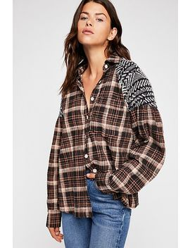 Fireside Nights Buttondown by Free People