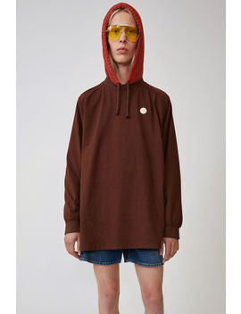Oversized T Shirt Chocolate Brown by Acne Studios