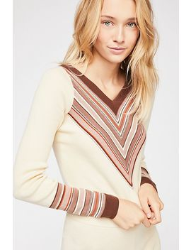 So Good Stripe Pullover by Free People