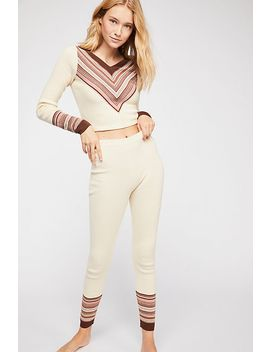 So Good Stripe Legging by Free People