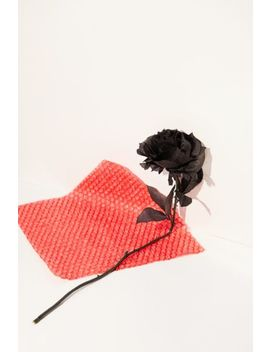 Black Rose Faux Flower by Urban Outfitters