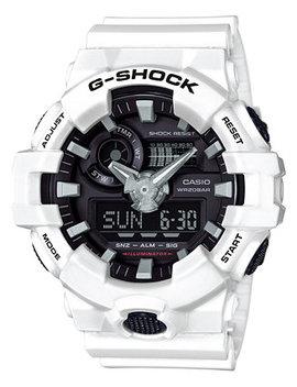 Men's Analog Digital White Resin Strap Watch 54mm Ga700 7 A by G Shock