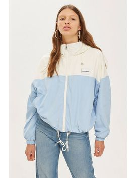 Hooded Zip Jacket By Calvin Klein by Topshop