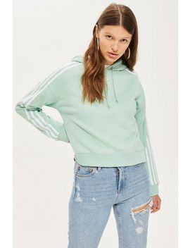 Cropped Hoodie By Adidas by Topshop