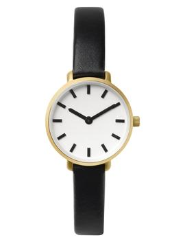 Beverly Round Leather Strap Watch, 26mm by Breda