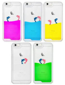 Swimming Floating Dolphin Fish Liquid Novelty Phone Case For I Phone &Amp; Samsung by Ebay Seller