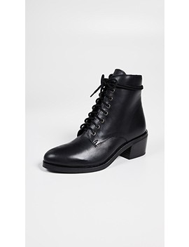 Gamin Lace Up Combat Boots by Jeffrey Campbell