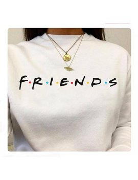 Friends Long Sleeve Crewneck Sweater, Friends Tv Show Tshirt, Friends Sweater, Unisex by Epic Stop