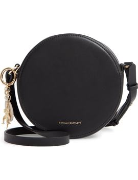 Faux Leather Round Bag by Estella Bartlett