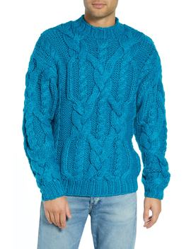 Classic Cable Knit Sweater by Topman