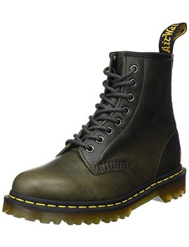 Dr. Martens Men's 1460 Dark Taupe Orleans Leather Fashion Boot, by Dr.+Martens