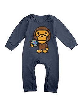 Skyblueblue Famouse Rapper Singer Kid Cudi Bape Baby Onesie Romper Jumpsuit Baby Clothes by Skyblueblue