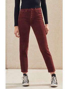 Pac Sun Brick Dust Corduroy Vintage Icon Mom Jeans by Pacsun