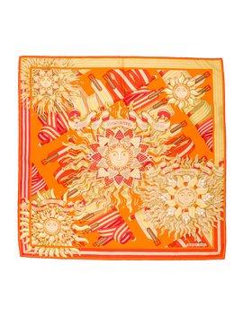 Les Sangles De Phoebus Silk Scarf by Hermès