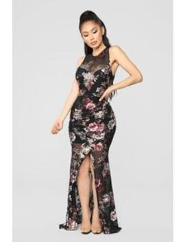 Summer Date Night Dress   Black by Fashion Nova