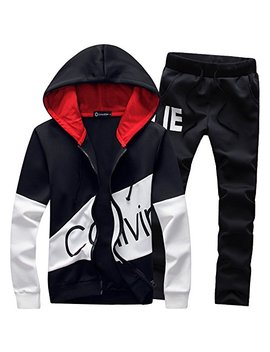 Fashionmy Hoodies Tracksuits Sporting Suit Slim Fit Track Suit Polo Casual Outwear Suits Cardigan by Fashionmy