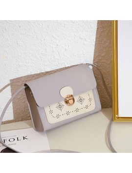 Fashion Women Laser Carved Messenger Bag Brand Designer Shoulder Bag For Women Small Clutch Bag Female Crossbody Bags by Mojoyce
