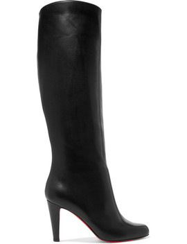 Marmara 85 Kniehohe Stiefel Aus Leder by Christian Louboutin