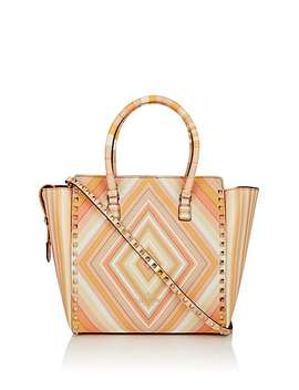 Rockstud Leather Tote Bag by Valentino Garavani