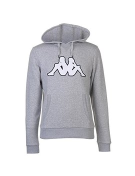 Kappa Mens Fleece Oth Ll Hoody Hoodie Hooded Top Kangaroo by Kappa