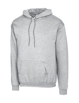 Heather Gray Clique Fleece Hoodie   Men by Clique