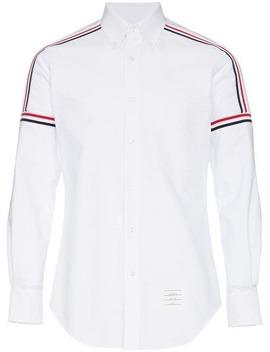 Tricolour Stripe Cotton Shirt by Thom Browne
