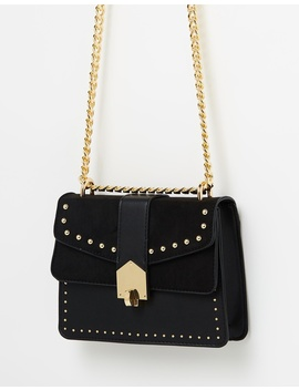 Shelby Stud Buckle Cross Body by Topshop