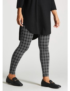 Check Leggings by Matalan