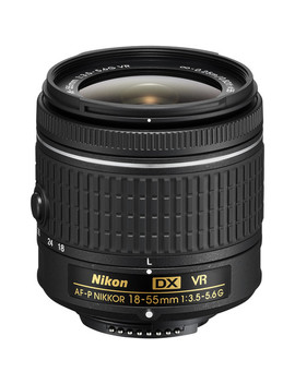 Af P Dx Nikkor 18 55mm F/3.5 5.6 G Vr Lens by Nikon