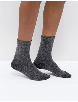 Pieces Glitter Sock by Pieces