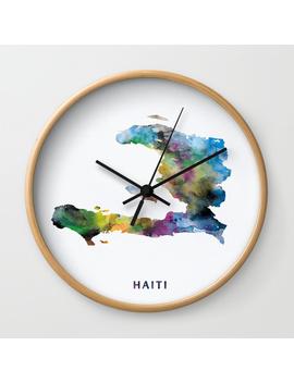 Haiti Wall Clock by