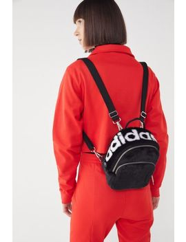 Adidas Faux Fur Mini Backpack by Adidas