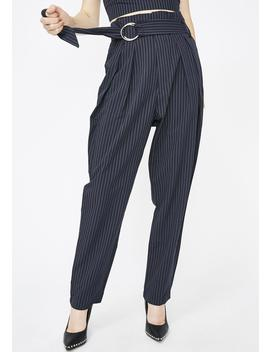 Dolly Montana Pinstripe Pant by Do  Be