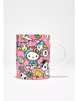 Hello Kitty Tokidoki Ceramic Mug by Sanrio