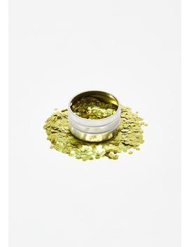 Ultra Chunky Biodegradable Gold Glitter by Eco Stardust