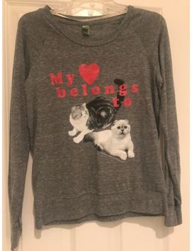 Taylor Swift My Heart Belongs To Olivia &Amp; Meredith Sweatshirt American Apparel S by Taylor Swift