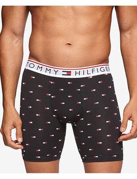 Men's Modern Essentials Printed Knit Boxer Briefs by Tommy Hilfiger