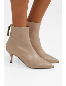 Juniper Leather Ankle Boots by Stuart Weitzman